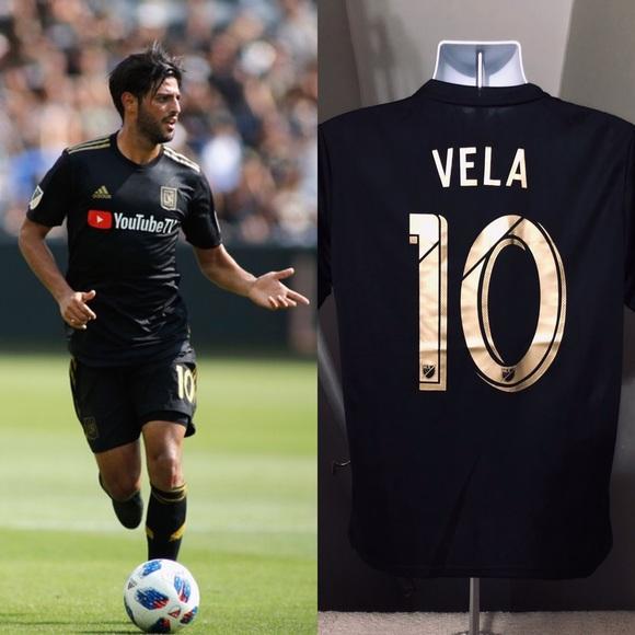 42cf99f93 adidas Shirts | Carlos Vela 10 Los Angeles La Fc Soccer Jersey ...